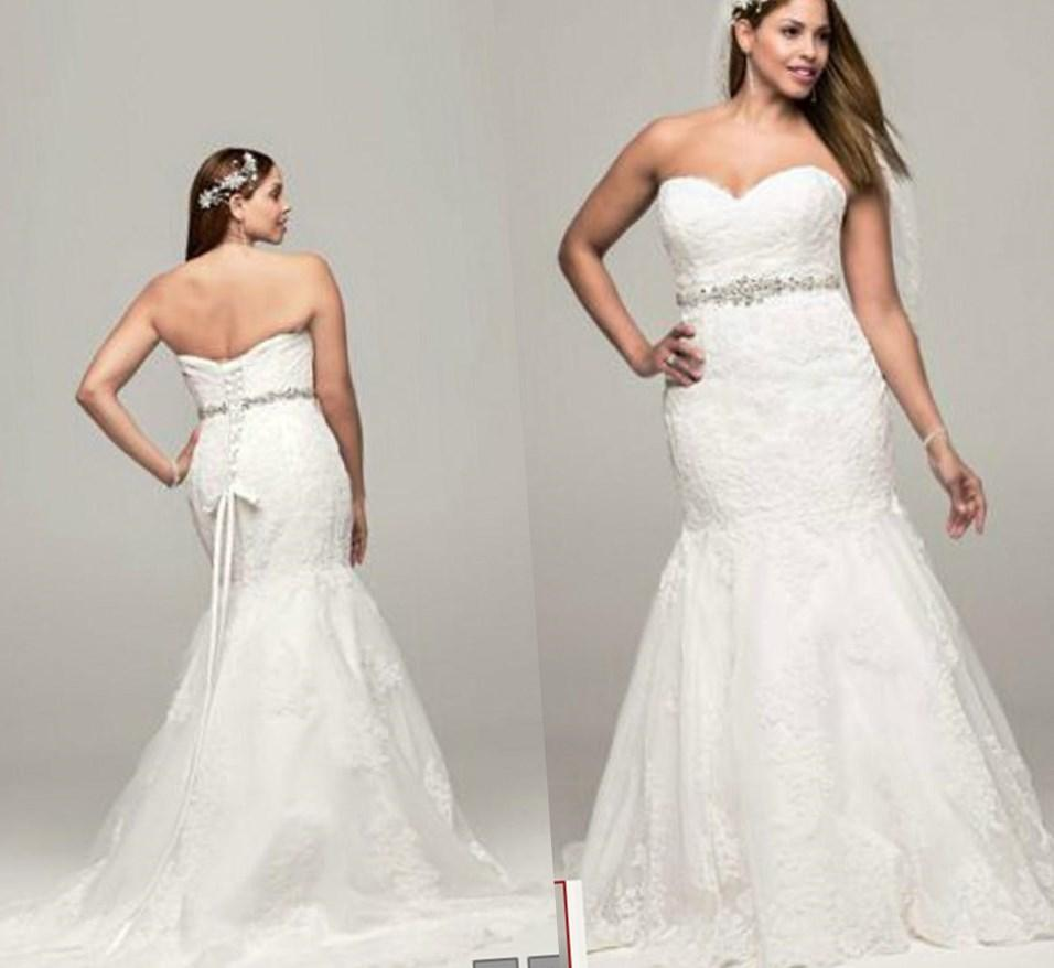 Tips to choose beach wedding dresses plus size for Beach wedding dresses for plus size